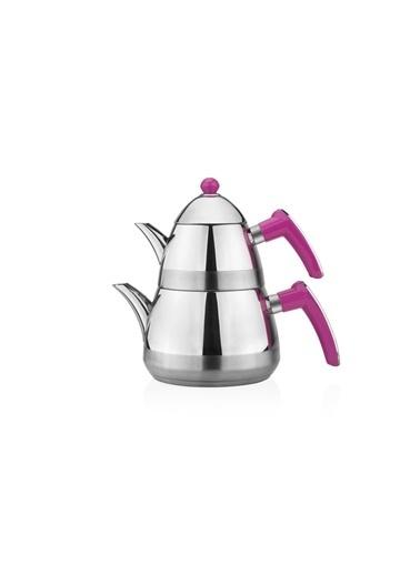 Taç Mutfak Casablanca Çaydanlık - Fuşya Fuşya
